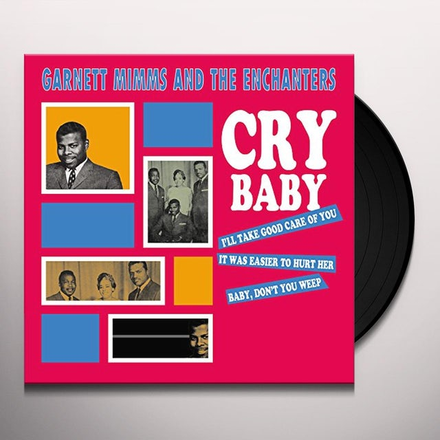 Garnett Mimms / The Enchanters CRY BABY-4 GREAT HITS! Vinyl Record - UK Release