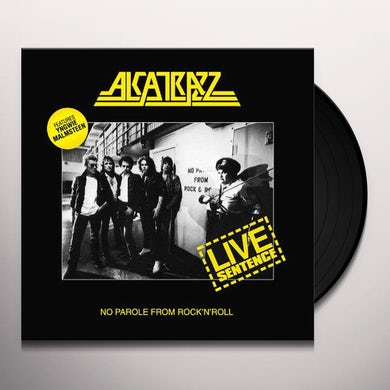 Alcatrazz LIVE SENTENCE Vinyl Record