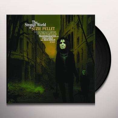 TRANSMANIACON STRANGE WORLD OF SUZIE PELLET Vinyl Record