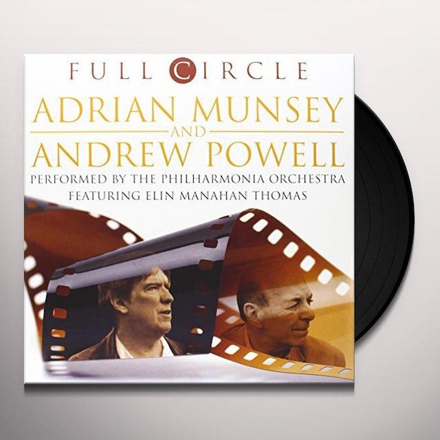 Adrian Munsey / Andrew Powell FULL CIRCLE Vinyl Record