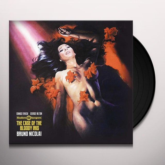 Case Of The Bloody Iris / O.S.T. (Uk) CASE OF THE BLOODY IRIS / O.S.T. Vinyl Record - UK Release