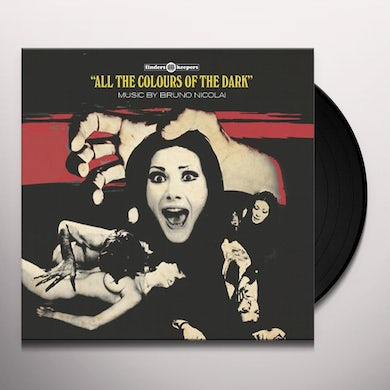 ALL THE COLOURS OF THE DARK / O.S.T. Vinyl Record - UK Release