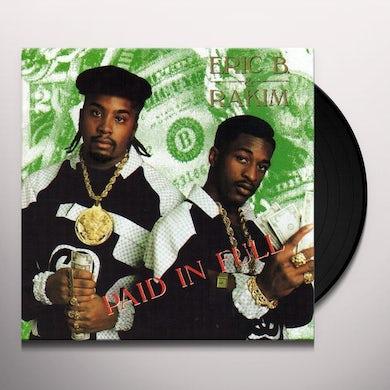 Eric B & Rakim PAID IN FULL Vinyl Record - UK Release