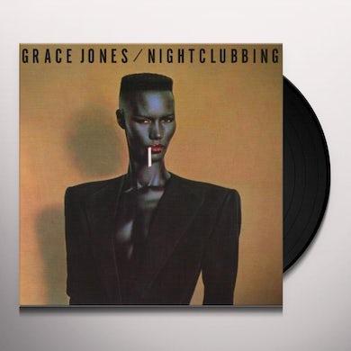Grace Jones NIGHTCLUBBING Vinyl Record - UK Release