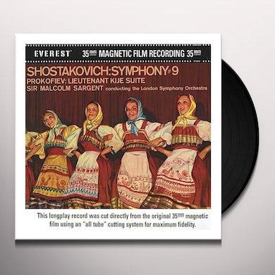 Shostakovich / Prokofiev SYMPHONY NO 9 / LT KIJE SUITE (200 GRAM) (Vinyl)