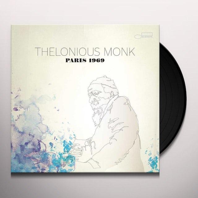 Thelonious Monk PARIS 1969 Vinyl Record