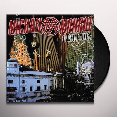 Michael Monroe BLACKOUT STATES Vinyl Record - UK Release