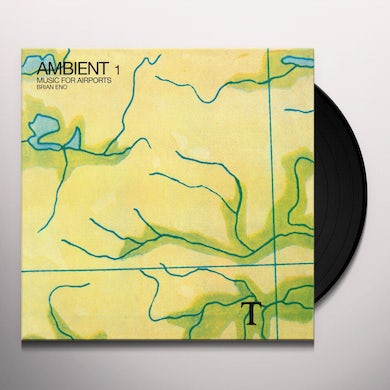 Brian Eno AMBIENT 1: MUSIC FOR AIRPORTS Vinyl Record
