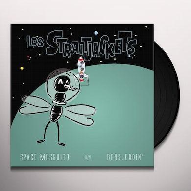 Los Straitjackets SAPCE MOSQUITO B/W BOBSLEDDIN' Vinyl Record