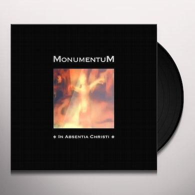 Monumentum IN ABSENTIA CHRISTI Vinyl Record