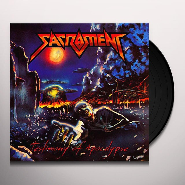 Sacrament TESTIMONY OF APOCALYPSE Vinyl Record