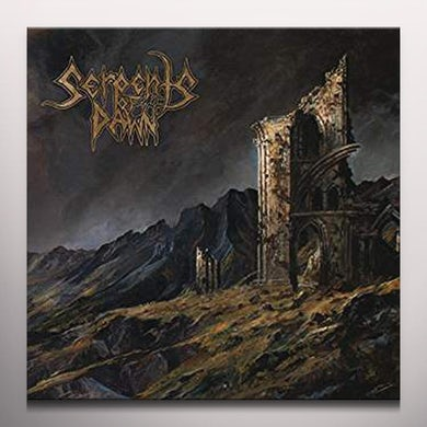 Serpents Of Dawn INTO THE GARDEN - Limited Edition Gold Colored Vinyl Record