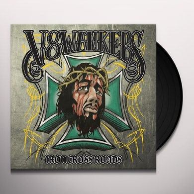 V8 Wankers IRON CROSSROADS Vinyl Record