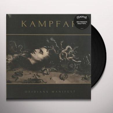 Kampfar OFIDIANS MANIFEST Vinyl Record