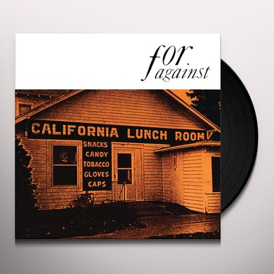 For Against MASON'S CALIFORNIA LUNCHROOM Vinyl Record