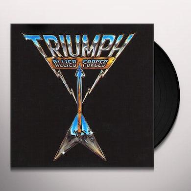 Triumph Allied Forces Vinyl Record