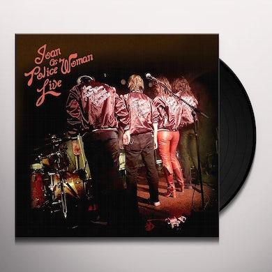 Joan As Police Woman & Benjamin Lazar Davis LIVE Vinyl Record