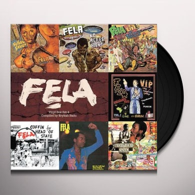 Fela Kuti VINYL BOX SET 4 COMPILED BY ERYKAH BADU Vinyl Record