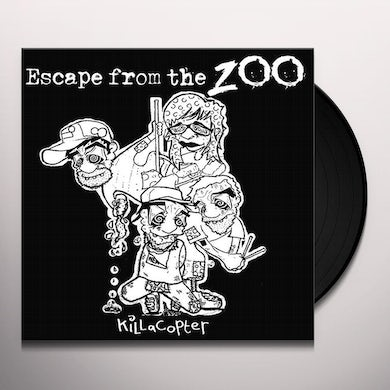 Escape From The Zoo KILLACOPTER Vinyl Record