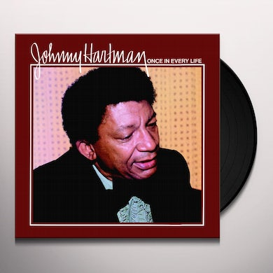 Johnny Hartman ONCE IN EVERY LIFE Vinyl Record