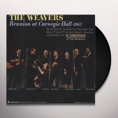 Weavers REUNION AT CARNEGIE HALL 1963 Vinyl Record