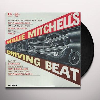 WILLIE MITCHELL'S DRIVING BEAT Vinyl Record