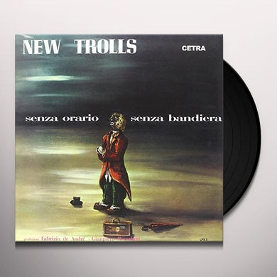 New Trolls SENZA ORARIO SENZA BANDIERA Vinyl Record
