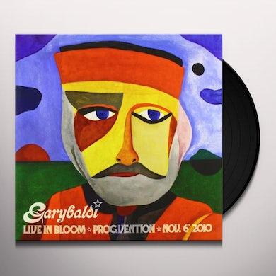 Garybaldi LIVE IN BLOOM Vinyl Record