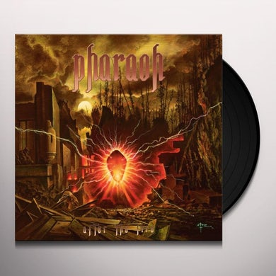 Pharaoh AFTER THE FIRE Vinyl Record
