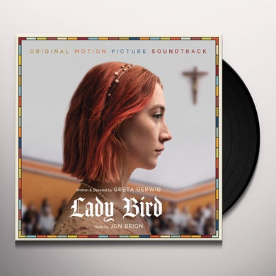 Jon Brion LADY BIRD - BLACK VINYL / Original Soundtrack Vinyl Record