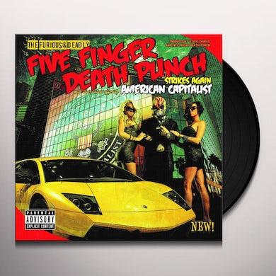 Five Finger Death Punch American Capitalist Vinyl Record