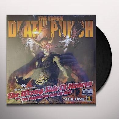 Five Finger Death Punch WRONG SIDE OF HEAVEN V1 Vinyl Record