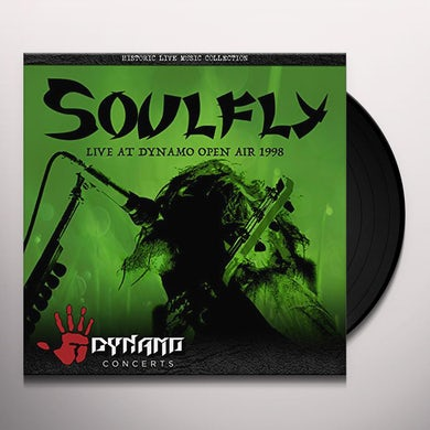 Soulfly LIVE AT DYNAMO OPEN AIR 1998 Vinyl Record