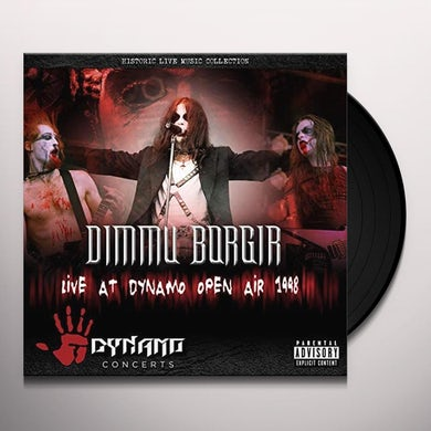Dimmu Borgir LIVE AT DYNAMO OPEN AIR 1998 Vinyl Record