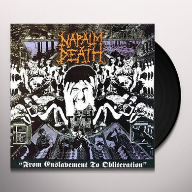 Napalm Death FROM ENSLAVEMENT TO OBLITERATION Vinyl Record