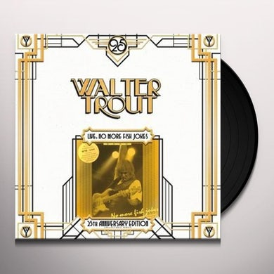 Walter Trout LIVE NO MORE FISH JOKES Vinyl Record