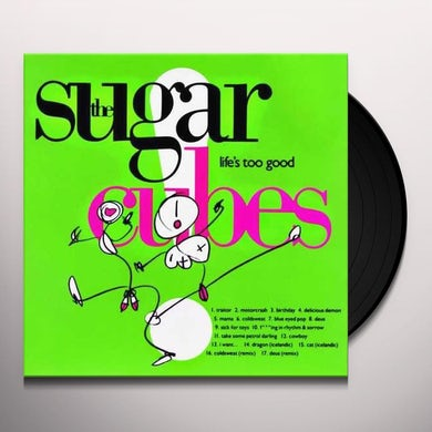 Sugarcubes LIFES TOO GOOD-DIRECT METAL MASTER Vinyl Record
