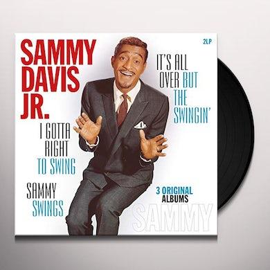 Sammy Davis Jr I GOTTA RIGHT TO SWING / ALL OVER BUT THE SWINGIN Vinyl Record