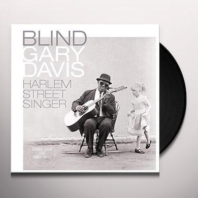Blind Gary Davis HARLEM STREET SINGER Vinyl Record