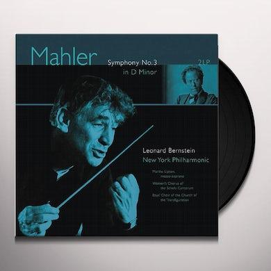 Gustav Mahler SYMPHONY 3 IN D MINOR Vinyl Record