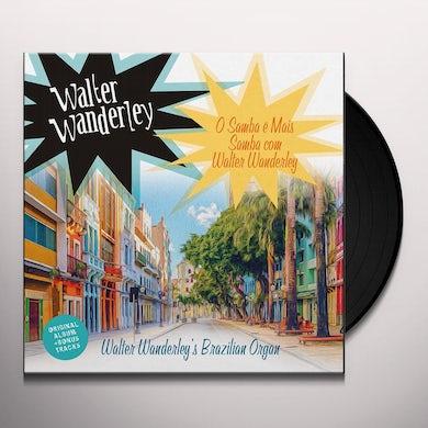 O SAMBA E MAIS SAMBA COM WALTER WANDERLEY Vinyl Record