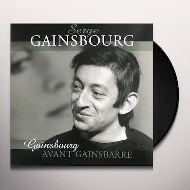 Serge Gainsbourg AVANT GAINSBARRE Vinyl Record