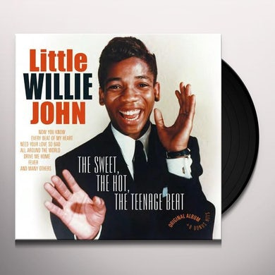 Little Willie John SWEET THE HOT THE TEEN-AGE BEAT Vinyl Record