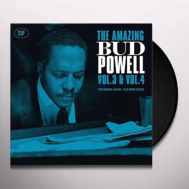 AMAZING BUD POWELL VOL 3 & VOL 4 Vinyl Record
