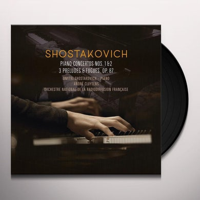 PIANO CONCERTOS 1 & 2, 3 PRELUDES & FUGUES Vinyl Record