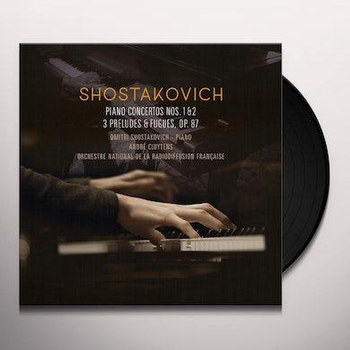 Shostakovich PIANO CONCERTOS 1 & 2 / 3 PRELUDES & FUEGES OP 87 Vinyl Record