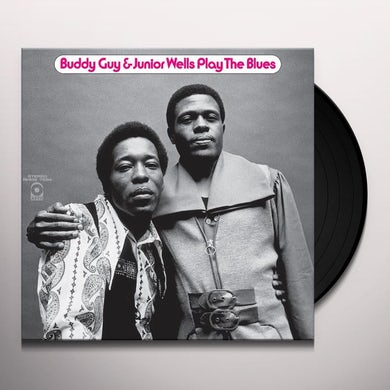 Buddy Guy PLAY THE BLUES Vinyl Record