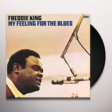 Freddie King MY FEELING FOR THE BLUES Vinyl Record