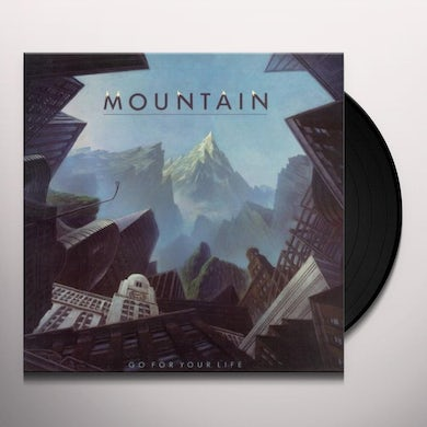 Mountain GO FOR YOUR LIFE Vinyl Record