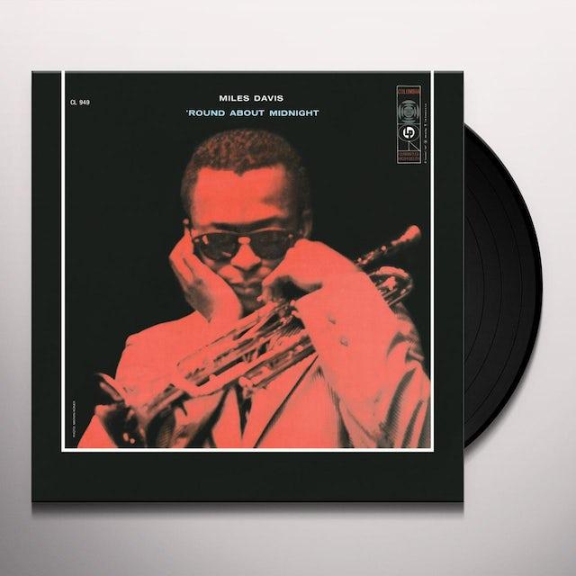 Miles Davis ROUND ABOUT MIDNIGHT Vinyl Record